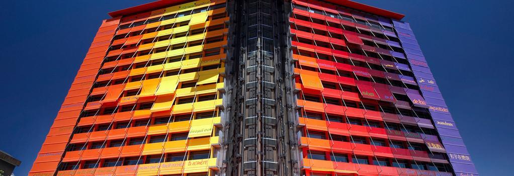 실큰 푸에르타 아메리카 호텔 마드리드 - 마드리드 - 건물