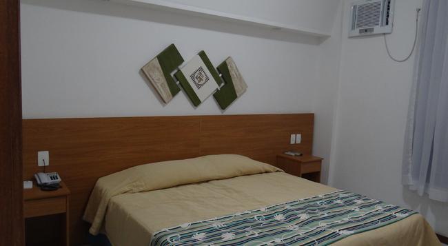 Hotel Praia Linda - 리우데자네이루 - 침실