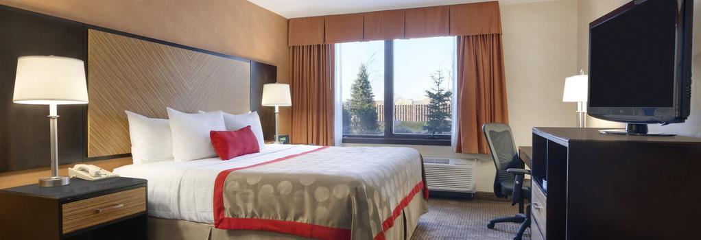 라마다 프라자 호텔 뉴워크 공항 - 뉴어크 - 침실