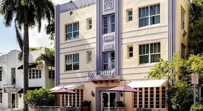 호텔 쉘리 - 마이애미비치 - 건물