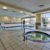 힐튼 가든 인 앨버커키 저널 센터 호텔 Indoor Pool