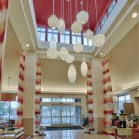 힐튼 가든 인 앨버커키 저널 센터 호텔 Interior Entrance
