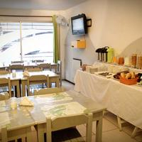 Che Lagarto Hostel Montevideo Dining