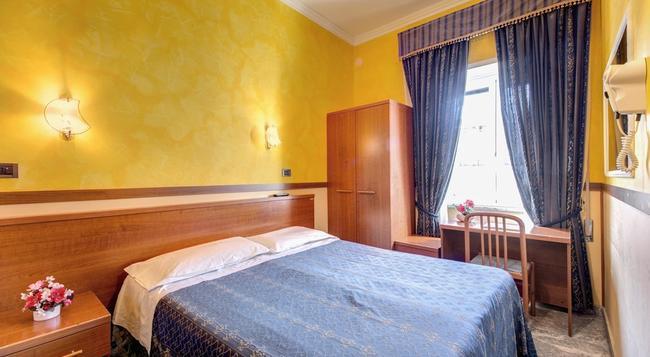 호텔 플레닛 - 로마 - 침실