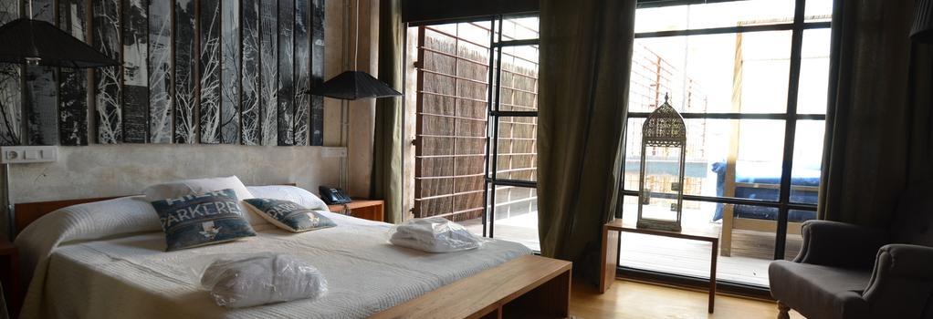 Brondo Architect Hotel - 팔마데마요르카 - 침실