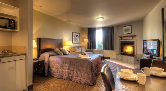 Hotel Vacances Tremblant - 몽트랑블랑 - 침실