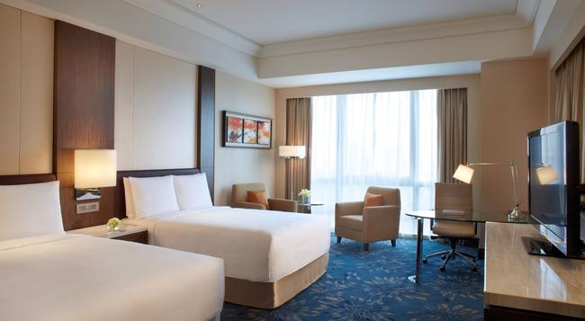 상하이 메리어트 호텔 푸동 이스트 - 상하이 - 침실
