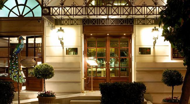 헤라 호텔 - 아테네 - 건물
