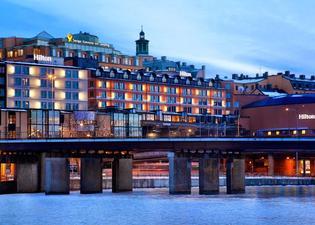 힐튼 스톡홀름 슬루센 호텔
