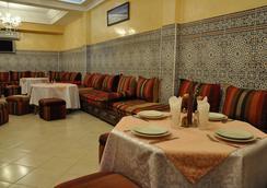 호텔 몽겔리즈 - 마라케시 - 레스토랑