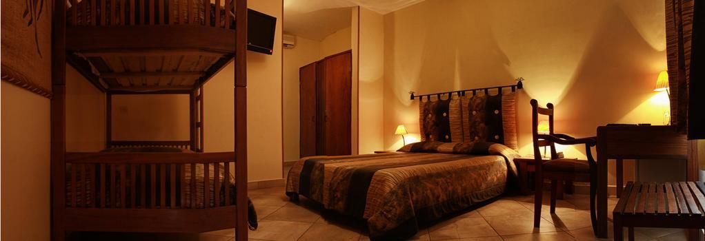Hôtel Restaurant Coco Lodge Majunga - Majunga - 침실