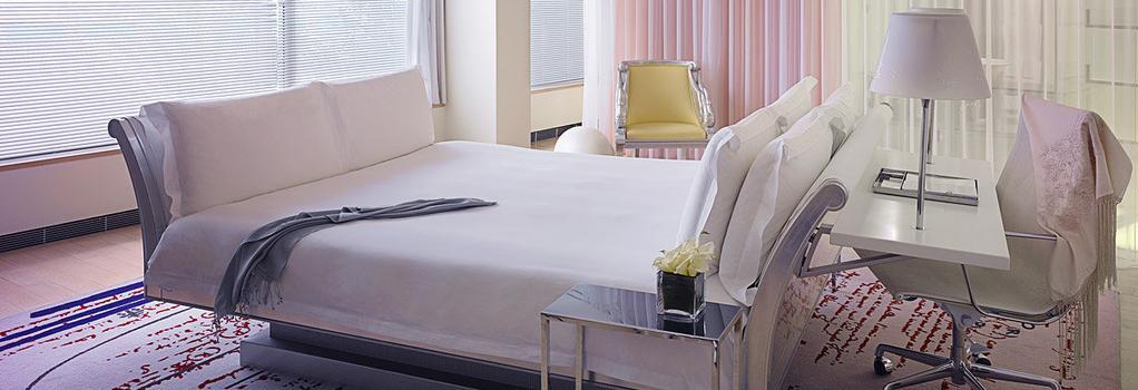 샌더슨, 어 모건스 호텔 - 런던 - 침실