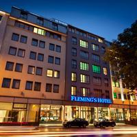 플리멩스 호텔 빈 베스트반호프 Hotel Front - Evening/Night