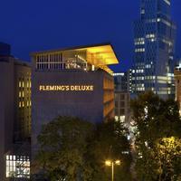 플레밍스 디럭스 호텔 프랑크푸르트 시티 Hotel Front - Evening/Night
