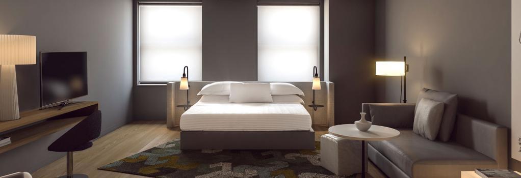 Q&A 레지덴셜 호텔 - 뉴욕 - 침실