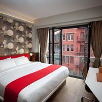 노블덴 호텔 Living Area