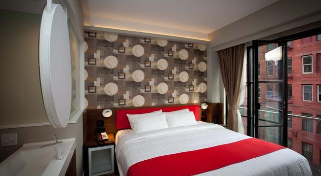 노블덴 호텔 - 뉴욕 - 침실