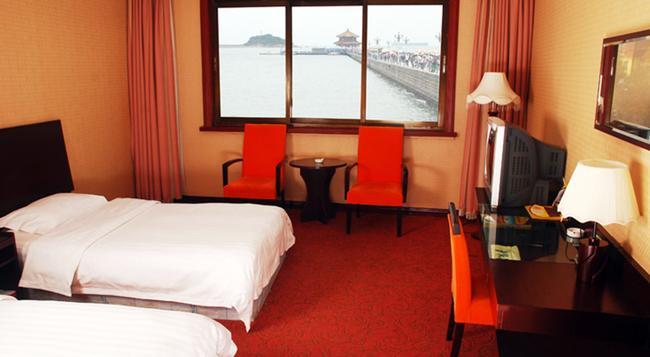 칭다오 후아넹 호텔 - 칭다오 - 침실