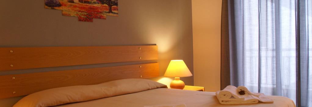Hotel Rasula Alta - 카타니아 - 침실