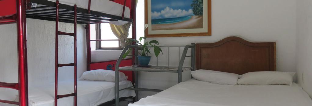 Kukulcan Hostel & Friends - 칸쿤 - 침실
