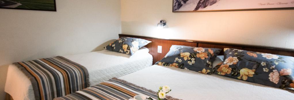 아구아스 두 이과수 호텔 센트로 - 포스두이구아수 - 침실