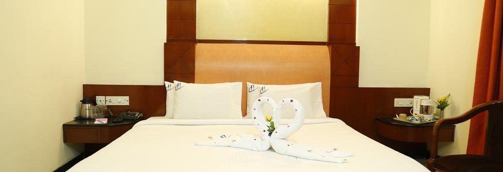 호텔 첸나이 디럭스 - 첸나이 - 침실