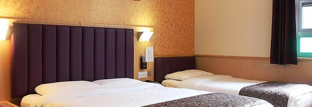 유로트래블러 호텔 - 프리미어 - 타워 브리지 - 런던 - 침실