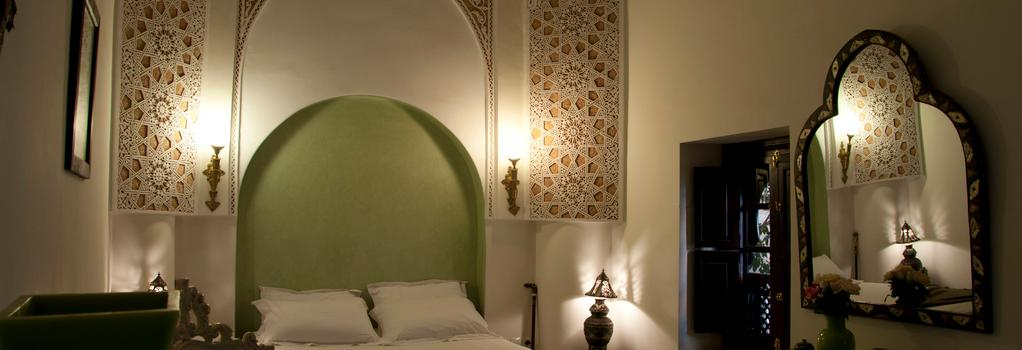 Riad Les Trois Palmiers El Bacha - 마라케시 - 침실
