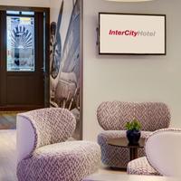 인터시티호텔 프랑크푸르트 공항 IntercityHotel Frankfurt Airport, Germany, lobby view