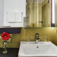 인터시티호텔 프랑크푸르트 공항 IntercityHotel Frankfurt, Germany, bathroom