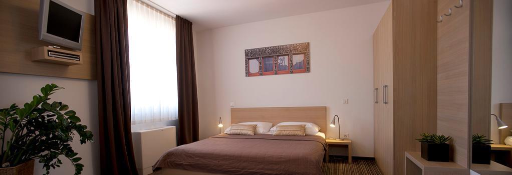 아호텔 호텔 엘주블자나 - 류블랴나 - 침실