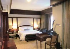 라오 프라자 호텔 - 비엔티안 - 침실