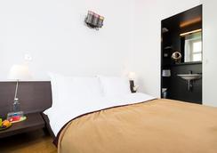 디자인 호텔 플래튼호프 - 취리히 - 침실