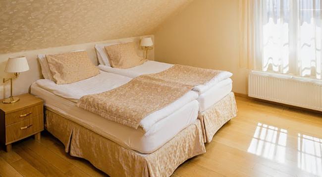 센터호텔 플라자 - 레이캬비크 - 침실