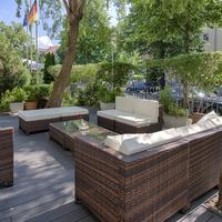 호텔 스메타나 Terrace/Patio