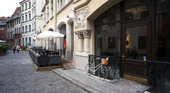 네이부르크 호텔 - 리가 - 건물