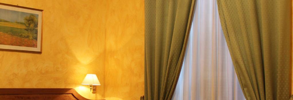 호텔 피오리 - 로마 - 침실