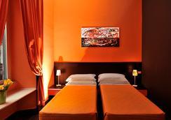 호텔 컬러스 - 로마 - 침실