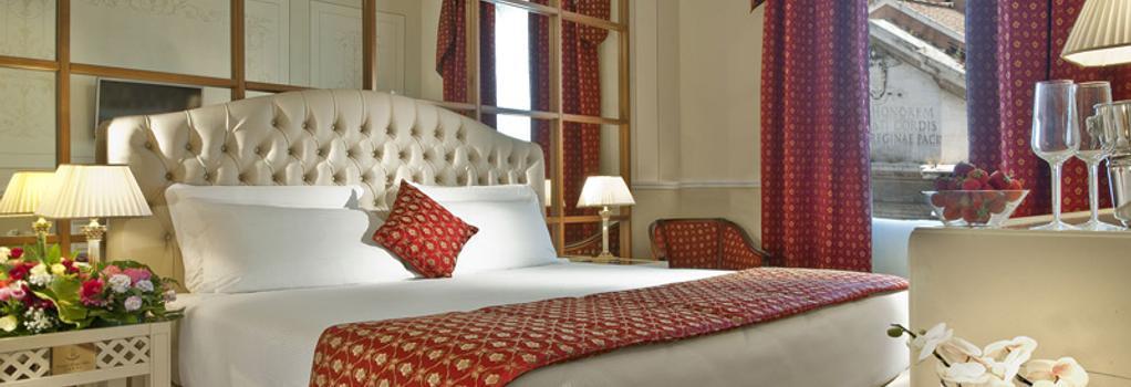 그랜드 호텔 리츠 - 로마 - 침실
