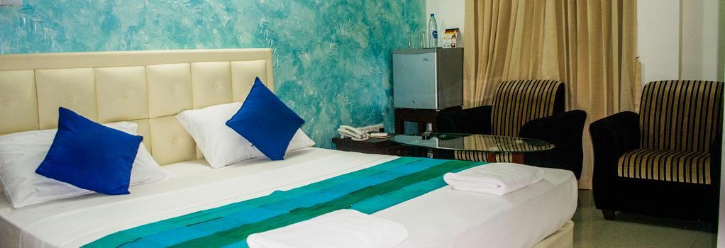 VJ 시티 호텔 - 콜롬보 - 침실