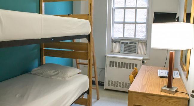 웨스트 사이드 YMCA 호스텔 - 뉴욕 - 침실