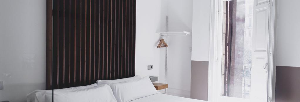 코스모폴리탄 부티크 호스탈 - 바르셀로나 - 침실