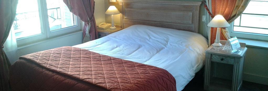 Brit Hotel Aux Sacres - 랭스 - 침실
